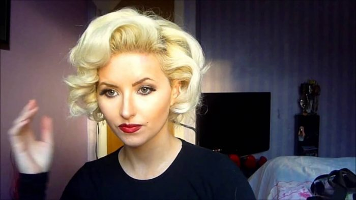 Marilyn Monroe Inspired Curls